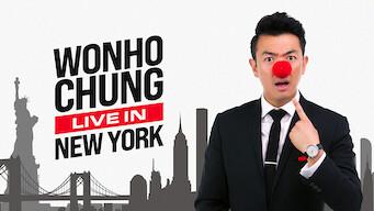 Wonho Chung: Live in New York