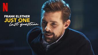 Frank Elstner: Just One Last Question: Season 1
